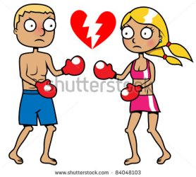 stock-vector-cartoon-girl-and-a-boy-boxing-breakup-concept-vector-illustration-84048103